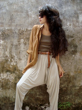 Clara Campelo - Vintage Belt, Vintage Boysh Top, Chilli Beans Glasses - Eighty-eight
