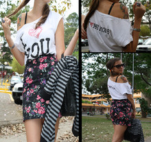 Maia Miranda - Recycled Plastic Ring, Vintage Bag, Zara Skirt - I love you but...I LOVE ME MORE