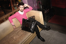 AD Huang - 5cm Shirt, Abahouse Sweater, Immense Pant, Bannister Shoes, Immense Bag - Slightly drunk