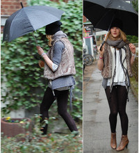 Julia M. - Lovingshoes, Fakefurvest, H&M Snood, H&M Fakefurhat - Baby I love days like,...