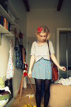 Hedvig Boström - Monki ?, Monki Dress, Beyond Retro Bow, Secondhand Bag - Take me into the night