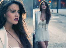 Rachel Lynch - White Tux Jacket, Costume Store Bring On The Christians, Dyi Corset Cream Dress - The golden coast,