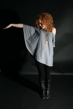 Brittany W - Bb Dakota Sequin Leggings, Urban Outfitters Black Riding Boots, I Don't Remember Tunic - Wingspan