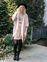 Marie Hindkær Wolthers - Acne Studios Cardigan, Acne Studios Boots, Cos Dress - Finally spring