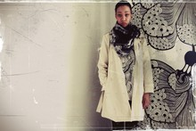 Aya B. - American Apparel ..., Second Hand ..., Nanso ... - Trench coat