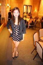 Abi K. - Meg* Blazer, Topshop Dress, Janilyn Pumps - 041710