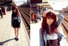 Shelley Mulshine - Crocker Denim Jacket, H&M Top, Monki Skirt, Second Hand Shoes - Almost summer.