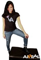 Aireal Apparel - Aireal Apparel Queen Of Virginia Tee - Queen of Virginia