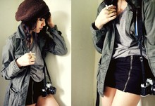 Stefany A - H&M Jacket, Topshop Rings - Here comes the sun