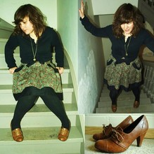 Tess Okapi - Zara Shoes, Annie Greenabelle Dress - I could change the world I could make it better