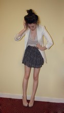 Rose A - Zara Blazer, Zara Top, Primark Skirt, Primark Belt, New Look Heels - Ghost world