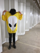 Shuhung . - Daniel Palillo Alien Sweater, Topman Jeans, Dr. Martens Boots - If I come from Mars...