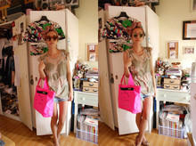Ployy B - Theirry Lasry Sunnies, Market In Bangkok Sunnies, Marc By Jacobs Neon Bag - Mad about shades