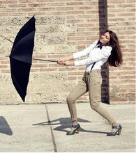 Gabriela A. - Calliope Pants, Shirt, Bow, Wind Fighter Umbrella - Can you paint with all the colors of the wind?