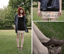 Zoe H - Carmels Boutique Brogues, Topshop Skirt, Vest, Shirt - We're gonna make it, because your hearts in your intentions.