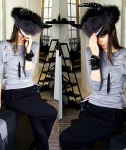 Caroline Daily - Mouton Collet Hat & Accessories, Mina Parikka Top, Shyde Harem Pants - In love with Mouton Collet
