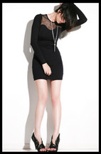 Just jac . ; ' . ` - David Lerner Mesh Dress, Surface To Air Sword, Dolce Vita Woven Platform Heels - Alloverallovelloverallover