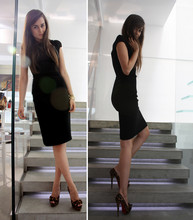 Andy T. - Christian Louboutin Shoes, Antonio Berardi Dress - WHEN THE LIGHTS GO OUT