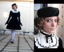 Rita Trixtar - Victorian Maiden Bib Dress - Entangled