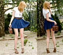 Kazia Jaszkiewicz - Stradivarius Shorts, Aldo Heels, Vintage Bag - Dance with reality  (shorts not skirt ;))