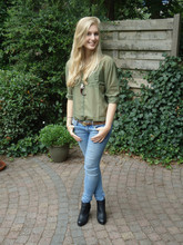 Sarah Bon - H&M Jeans, H&M See Through Blouse, H&M Wedges - I SEE THE LOVE THROUGH YOUR HATE