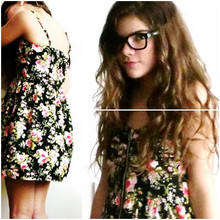 Laura Lopez - Forever 21 Flower Patterned Dress - 3D Summer