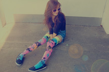 Romina M. - Love Knee Highs - I  ♥ COLORS