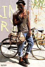 Kadeem Johnson - American Apparel Tank, Jeans Vintage, Diesel Shoes, Ray Ban Shades - Http://kjohnlasoul.com/2010/08/11/momma/#more-588 (Smokin Gun)