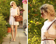 Viivi M - Monki Lace Dress, Mulberry Alexa, Vivienne Westwood Flats - Wednesday Afternoon
