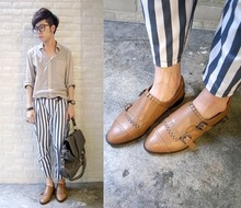 Curtis Yu - Zara Shoes, Vanten Bag - Stripe