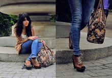 Inez A. - Topshop Swaeater, Topshop Shoes, At Camden Town Bag - Most wanted.