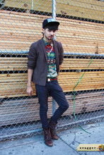Rembrandt Duran - Rrl Indian Button Up, Chris Habana Rad Hat - The Prince is Back