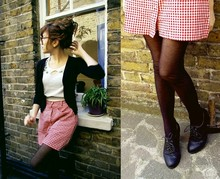 "Stefany A - Primark Shoes, Camden Market Skirt - Come te vene 'capa e di: ""I love you!?"""