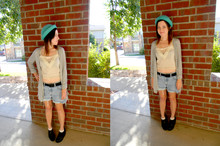 Mandy Kim - Urban Outfitters Crop Top, Levi's® Shorts - I'm not a romantic, I'm a realist