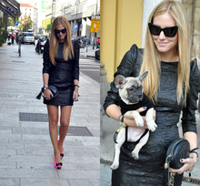 Chiara Ferragni - Alexander Wang Sunglasses - Meet my dog Matilda :D