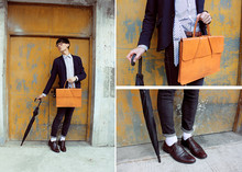 D .L -  - Orange & Umbrella in the fall season:)