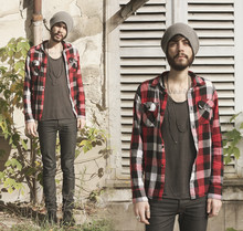 Tony Stone - H&M Plaid Shirt - THE LAST DAY.