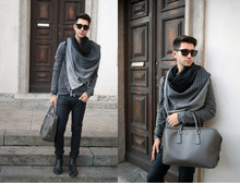 Filippo Fiora -  - Casual outfit and new Haircut