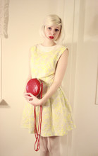Elin . - Vintage Dress, Vintage Bag - Hurricanes