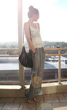 Stephanie Kramer - The Little Rabbit Crochet Top, Betts Bag, SuprÉ Maxi - THE ELSEWHERE WISH
