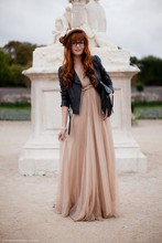 Louise Ebel - Maria Lucia Hohan Dress, Undefined Jacket, Asos Bag, Vintage Hat - Tuileries