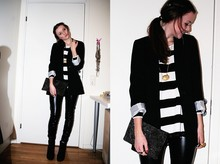 Ebba Nilsson - Pimkie Jacket,, Clutch, Present, H&M, Heels, Scorette - TODAY'S OUTFIT. BLABLA