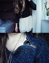 Ebba Nilsson - Topshop Knit, Topshop., Dress, Bought I France - When I was younger I saw my daddy cry And curse at the wind