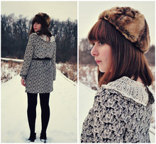 Maria C. - Dress, Asos Faux Fur Hat - Whatever Floats Your Boat