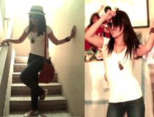 Jaque Aragon - Forever 21 Straw Fedora - My Amnesia Girl