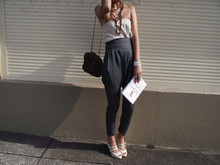 Valerie S - Zara Pants, Sportsgirl Purse, Jimmy Choo The Towering World Of - Independance