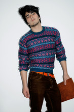 Andres Espinosa - Gift! Sweater. - Orange Spot.