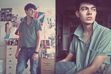 Jordan Campbell - Vintage Polo Top, Topman Jeans, Vivienne Westwood Necklace - I Fly With The Stars In The Skies