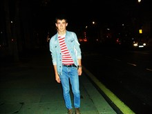 Igor Rozhkov - River Island Jacket, Topman T Shirt, Topman Jeans, New Look Boots - So yeah† † †