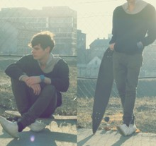 Ádám Sándor - Self Made Pullover, Topman Trousers - You spoke with an accent I don't know